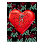 Spider Heart Postcards
