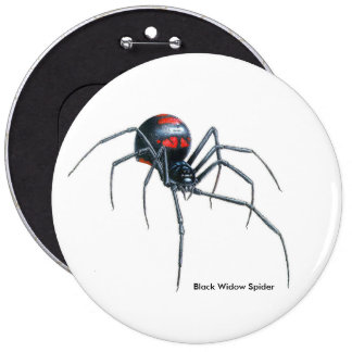 Spider image for Colossal-Round-Badge Button