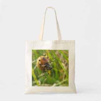 Spider in Action Tote Bag