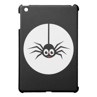 Spider in front of full moon iPad mini cases