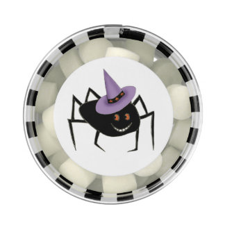 Spider in Hat Favor Box Chewing Gum Favors