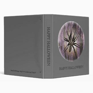 Spider in Purple Binder