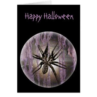 Spider in Purple Card