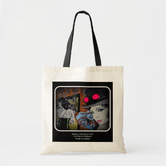 'Spider in the Gears' Canvas Bag