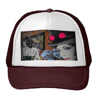 Spider in the Gears Trucker Hat