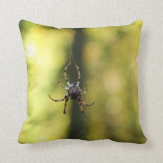 Spider in the Woods Pillow