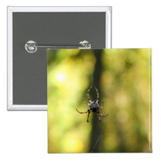 Spider in the Woods Pinback Button