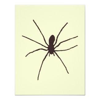 spider 4.25x5.5 paper invitation card