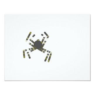 """Spider 4.25"""" X 5.5"""" Invitation Card"""
