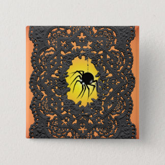 SPIDER, LACE, & JACK by SHARON SHARPE Button