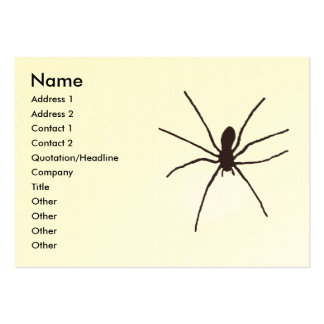 spider large business card
