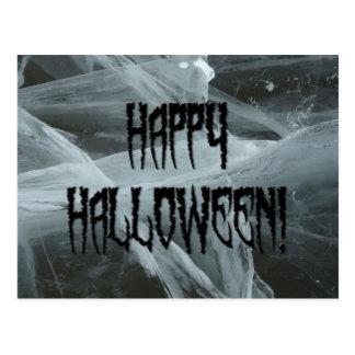 Spider Leg Halloween and Eerie Background Postcard