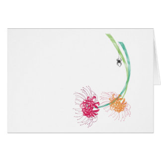 Spider Lily Card