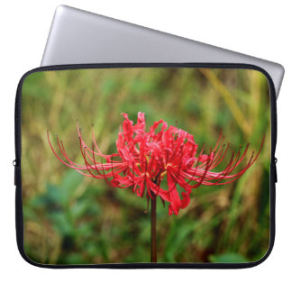 Spider Lily Laptop Sleeves