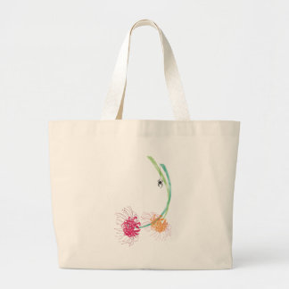 Spider Lily Large Tote Bag