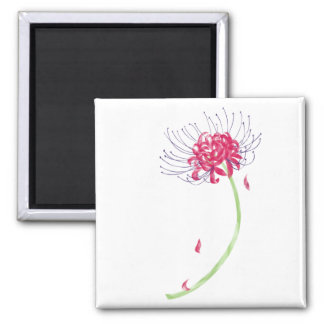 Spider Lily Magnet