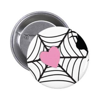 Spider LOVE! Pinback Button