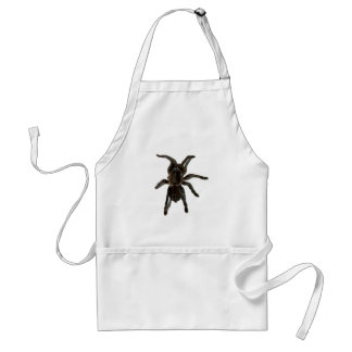 Spider lovers adult apron