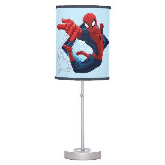 Spider-Man Action Character Badge Desk Lamp
