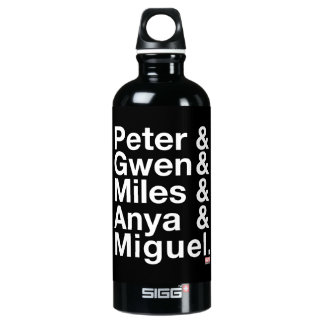 Spider-Man Alternates Ampersand Graphic Water Bottle