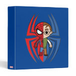 Spider-Man and Peter Parker Dual Identity Binder
