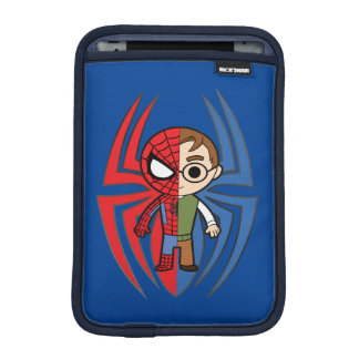 Spider-Man and Peter Parker Dual Identity Sleeve For iPad Mini