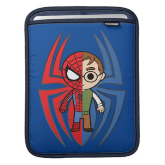 Spider-Man and Peter Parker Dual Identity Sleeve For iPads