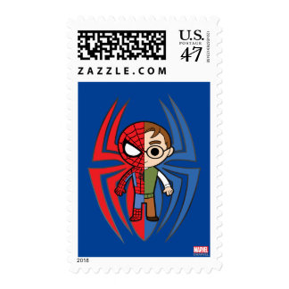 Spider-Man and Peter Parker Dual Identity Stamp