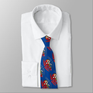 Spider-Man and Peter Parker Dual Identity Tie