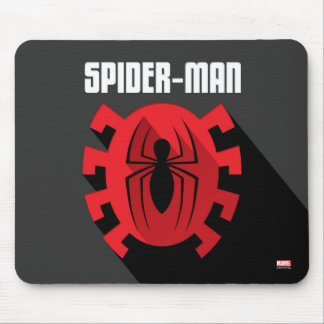 Spider-Man | Art Deco Spider-Man Emblem Mouse Pad