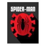 Spider-Man | Art Deco Spider-Man Emblem Postcard
