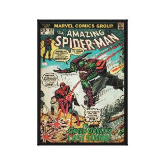 Spider-Man asombroso #122 cómico Impresión En Lienzo