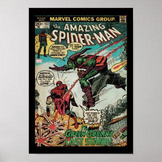 Spider-Man asombroso #122 cómico Póster