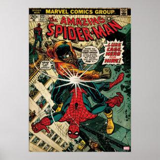 Spider-Man asombroso #123 cómico Póster