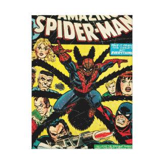 Spider-Man asombroso #135 cómico Impresión En Lienzo