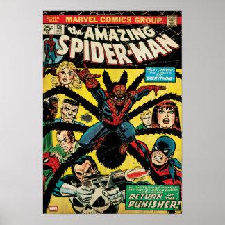 Spider-Man asombroso #135 cómico Póster