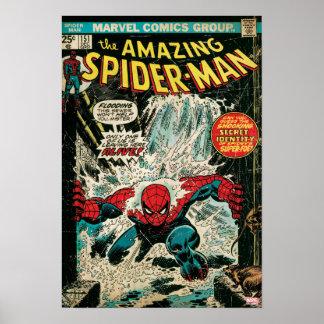Spider-Man asombroso #151 cómico Póster