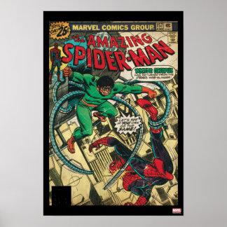 Spider-Man asombroso #157 cómico Póster