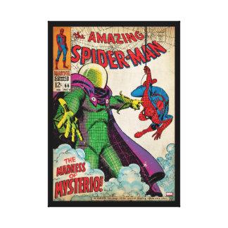 Spider-Man asombroso #66 cómico Impresión En Lienzo