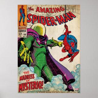 Spider-Man asombroso #66 cómico Póster