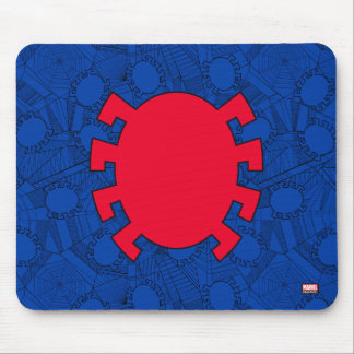 Spider-Man | Back Spider Symbol Mouse Pad