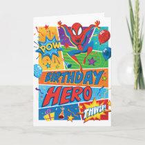 Spider-Man Birthday Hero Card