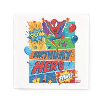 Spider-Man Birthday Hero Napkins
