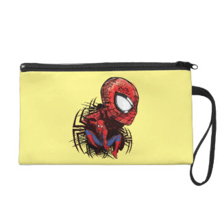 Spider-Man bosquejó el dibujo del marcador