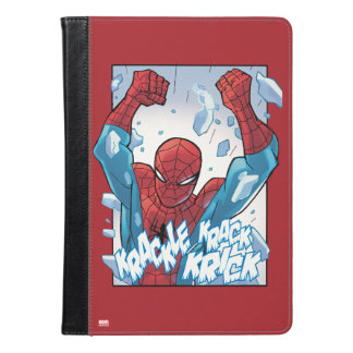 Spider-Man Breaking Glass iPad Air Case
