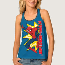 Spider-Man Callout Graphic Tank Top