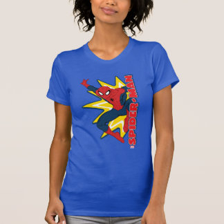Spider-Man Callout Graphic Tee Shirt
