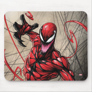 Spider-Man | Carnage Leaping Forward Mouse Pad