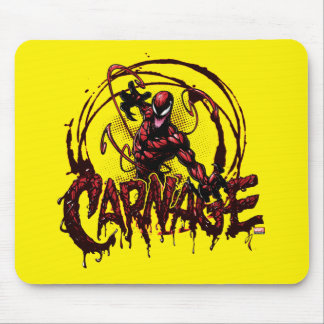 Spider-Man | Carnage Name Graphic Mouse Pad