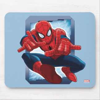 Spider-Man Character Card Mouse Pad